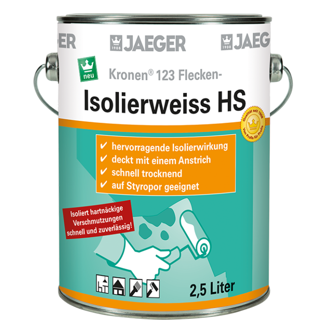 KRONEN 123 Flecken-Isolierweiss