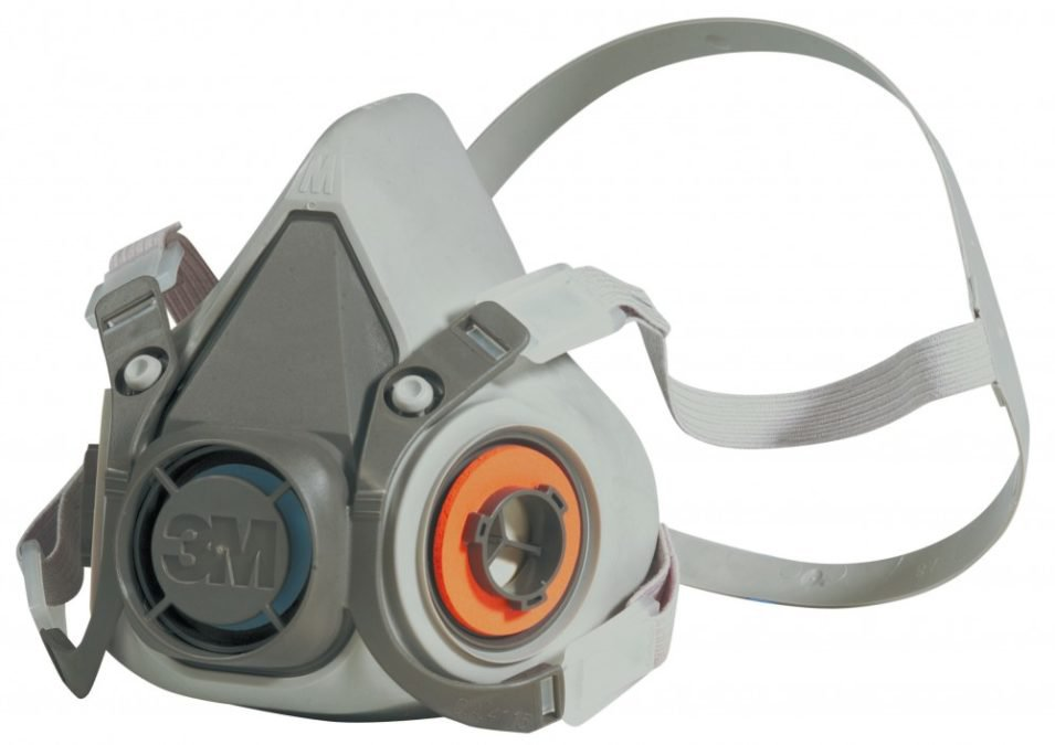 3M Farbspritz-Einwegmaske