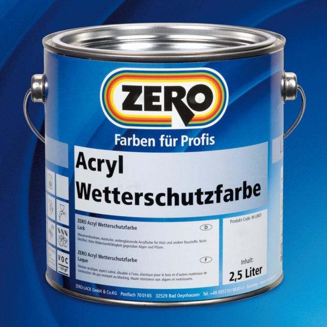 ZERO Acryl Wetterschutzfarbe
