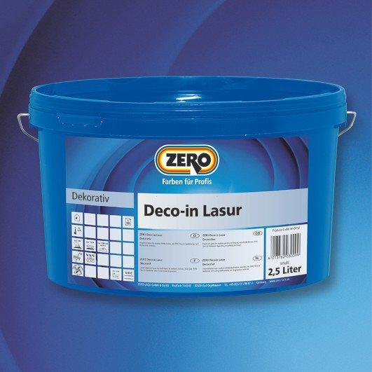 ZERO Deco-In Lasur färbig