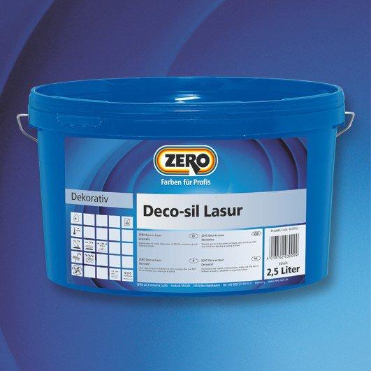 ZERO Deco-Sil Lasur färbig