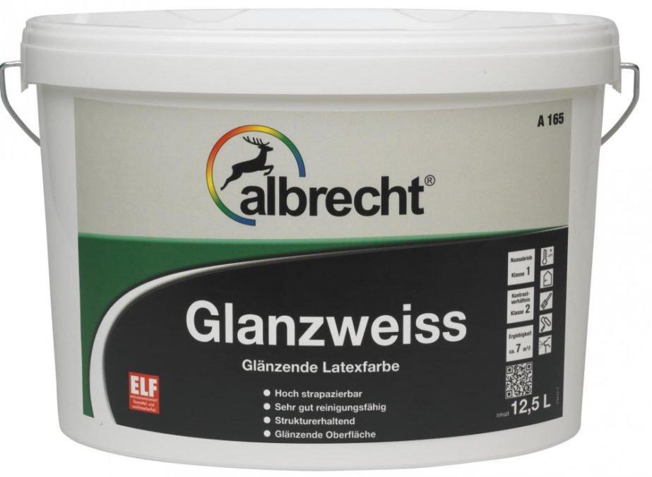 ALBRECHT Glanzweiss A165