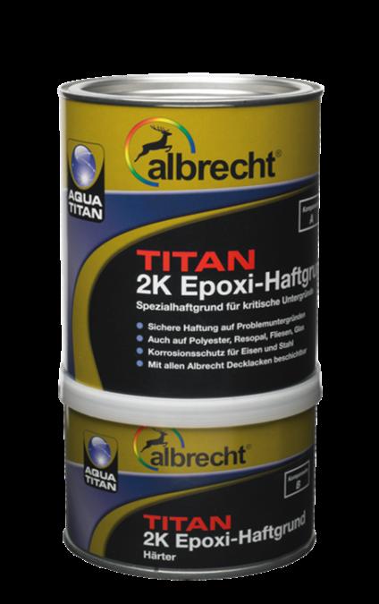ALBRECHT Aqua TITAN 2K Epoxi-Haftgrund