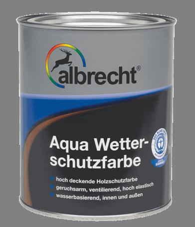 ALBRECHT Aqua Wetterschutzfarbe