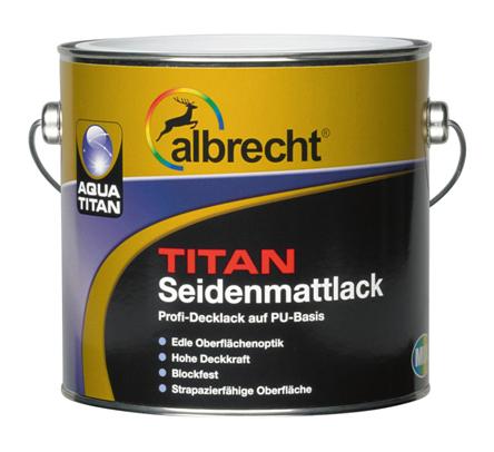 ALBRECHT Aqua TITAN Seidenmattlack