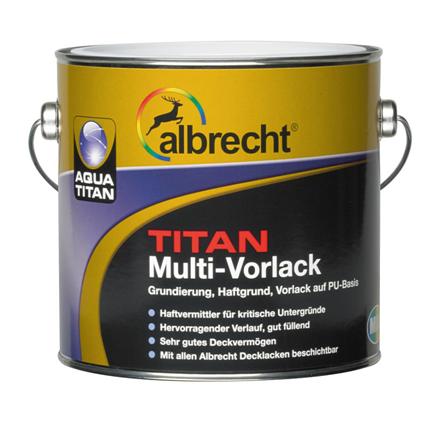 ALBRECHT Aqua TITAN Multi Vorlack