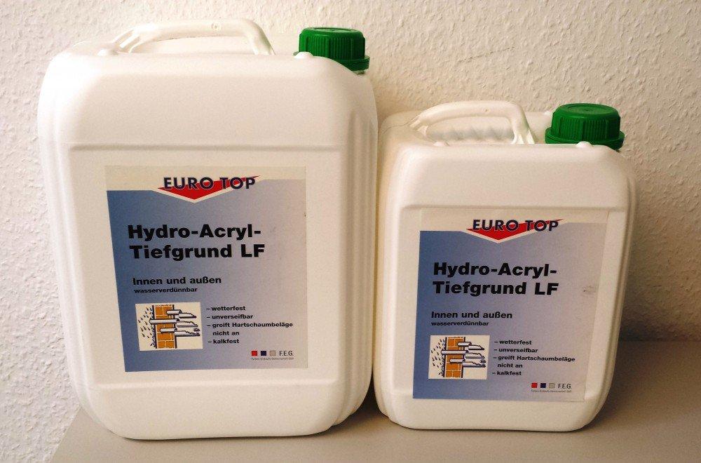 EUROTOP Hydro-Acryl Tiefgrund W
