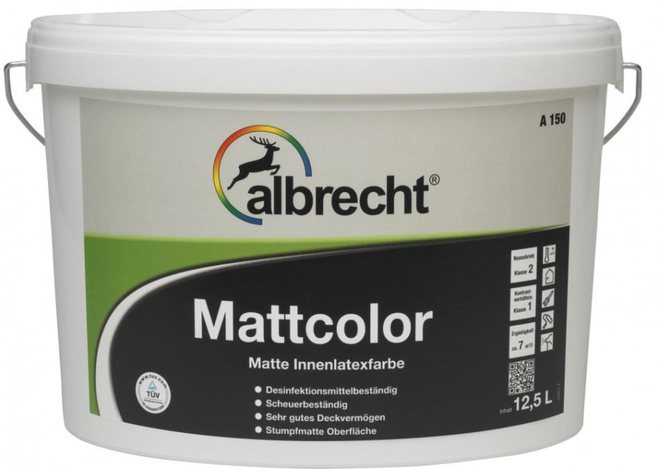 ALBRECHT Mattcolor A150