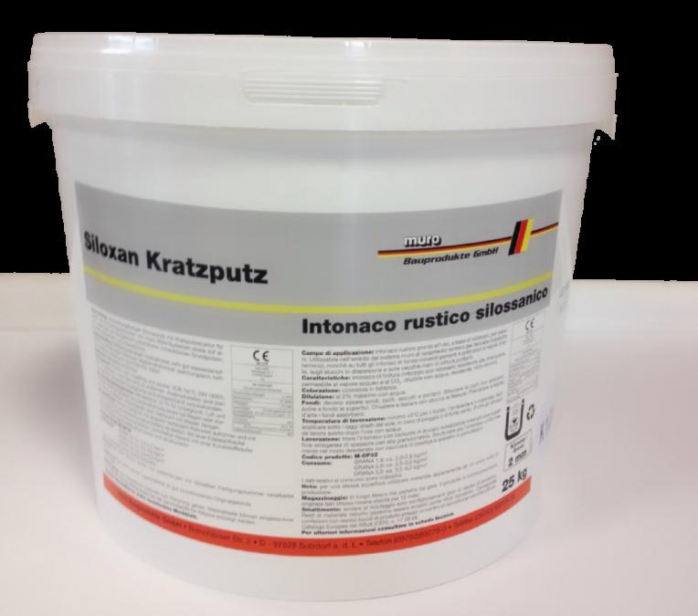 MUROTHERM Siloxan-Kratzputz