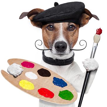 Hochwertige Malerwerkzeugefür große Künstler