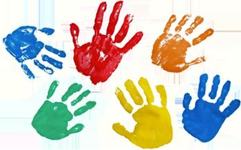 Farben für Schule und Kindergarten