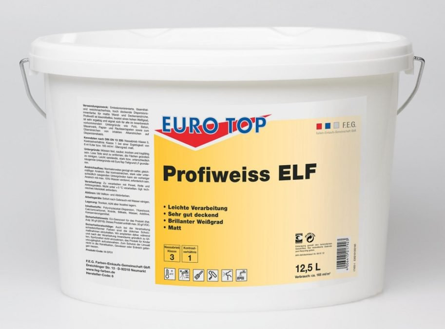 EUROTOP Profiweiss ELF