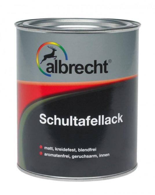 ALBRECHT Schultafellack
