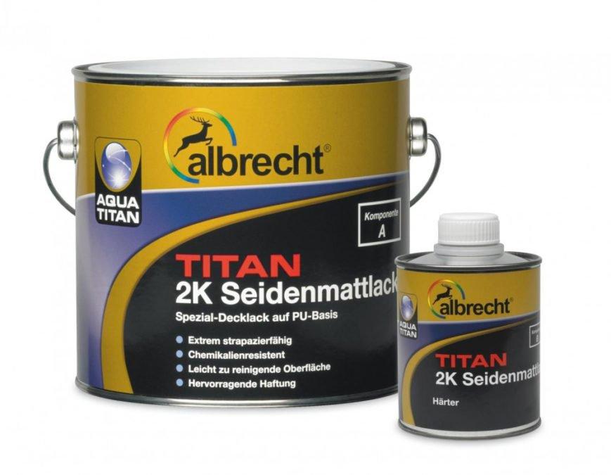 ALBRECHT Aqua TITAN 2K Seidenmattlack