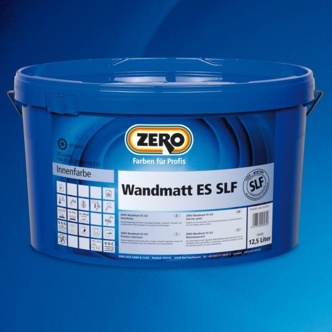 ZERO Wandmatt ES SLF Proweiss